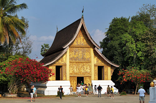 Carriage House at Wat Xieng Thong in Luang Prabang