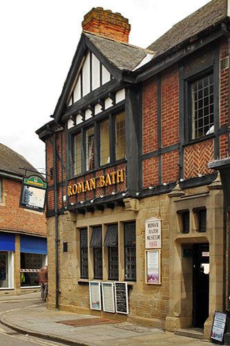 Ancient Roman baths were discovered in the cellar of the Roman Baths Pub in York, England