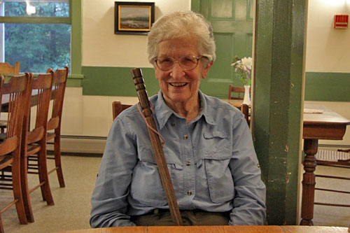 Judy Damkoehlar, a descendant of the developers of Irondequoit Inn, began coming to the Inn in 1930
